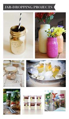 Mason jars are so hip and cool (via @Carlene Thomas RD )