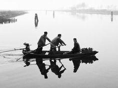 ♡ Il Maestro Elio Ciol fotografo, artista In laguna, Marano Lagunare, 1958