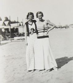 1930s Beach clothes. It's about more than golfing,  boating,  and beaches;  it's about a lifestyle  KW  http://pamelakemper.com/area-fun-blog.html?m