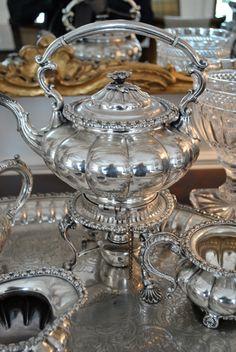 Gorgeous Silver Tea Service...