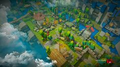 Stylized Blizzard-like Assets for Unity Pokemon, Game Assets, Asset Store, Pixel Art, Game Art, Unity, Environment, Cartoon, Inspiration