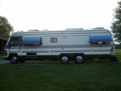 Our 1983 Holiday Rambler Imperial 33 30 Year Anniversary Vehicules Caravane