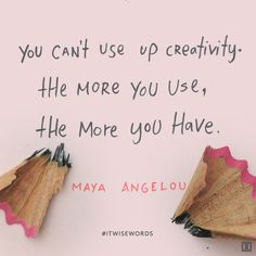 #WiseWords from Maya Angelou