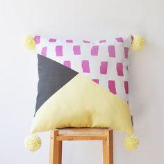NEW Decorative Pillow Kids Pillows Modern Nursery door LoveJoyCreate