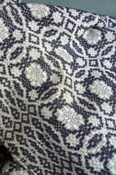 vintage wool blanket.