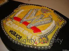WWE champion belt cake by MightyMorgan, via Flickr