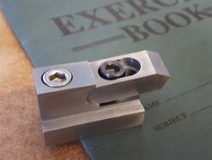 Hi Everyone by DonRecardo - Hi , Well I had a go at making the prototype and it came out okIt even works as it should which is always helpfullSeeing as I was on a roll ( well I had not broken anything yet ) I tried making one of Randy Richards Dovetail Cutters It came out a treat but as it uses a 16mm indexable insert its 32mm diameterand the dovetails in my QCTP Tool Holder are smaller than that so, I made more cutters to take 11mm and 9mm inserts so here is ,