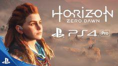 """Horizon Zero Dawn nos dice """"Hola"""" desde la PlayStation 4 Pro #Videojuegos #horizonzerodawn #playstation4"""