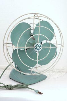 Vintage 1950 S La4 Westinghouse 10 Quot Blade Oscillating Table Fan