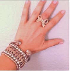 Glam Ring and Bracelets! get yours now!