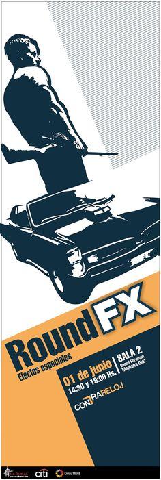 festival de cine acción - aficheta
