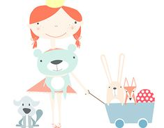 textile design- pastel world Textile Design, My Works, Bee, Pastel, Behance, Nursery, Textiles, Illustration, Fabric