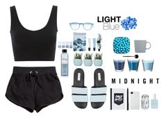 """""""light blue"""" by abiiesprofile-is ❤ liked on Polyvore featuring H&M, Postalco, Boots No7, Chen Chen & Kai Williams, Aesop, Abercrombie & Fitch, IDEA International, Incase, Mykita and CLEAN"""