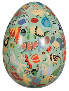"""""""our brood"""" egg by Clare Bassett"""