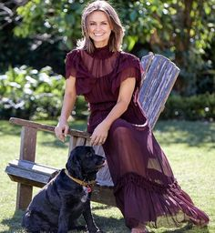 LW Lisa Wilkinson, Short Sleeve Dresses, Dresses With Sleeves, Bohemian, Silk, Romantic Dresses, Up, Beautiful, Fashion