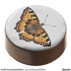 Small Tortoiseshell Butterfly Dipped Cookies Chocolate Covered Oreo. #partyplanning #party #cookies #chocolate