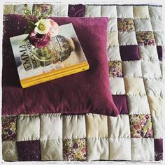 To celebrate 140 years of Liberty ~ A picture of the beautiful handmade quilt which lies across the end of our bed ♡♡♡ @nic_lapwing #repost #liberty #libertylondon - Thanks to @_houseonahill_! #myliberty