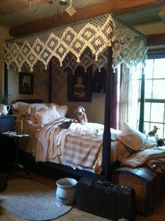 Beautiful bed ensemble
