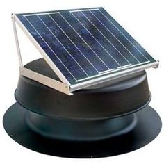 Solar Attic Fan - 20 Watts - 2000 sq ft - Black by Natural Light. $359.00. The Natural Choice in Attic Venting!. Minimize backpressure of exhaust gases.. Maximize the exposure of the sun to the solar panel.. Minimize the ambient temperature of the solar panel because power output rapidly declines as temperature increases.. Solar attic fan is adaptable to any location, roof type, in any environment.. The Solar Attic Fan is a simple and environmentally sensible solution that ...