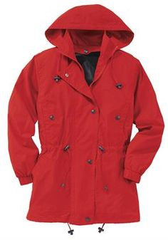 Plus Size Jacket, anorak in weather-resistant Taslon My Shopping List, Woman Within, Plus Size Women, Plus Size Outfits, Give It To Me, Raincoat, Weather, Casual, Jackets