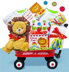 Day At The Circus Baby Wagon $99.00 http://www.BabyWonderland.com