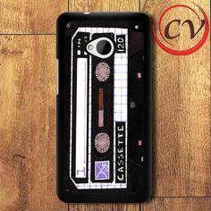 Retro HTC One M7 Black Case