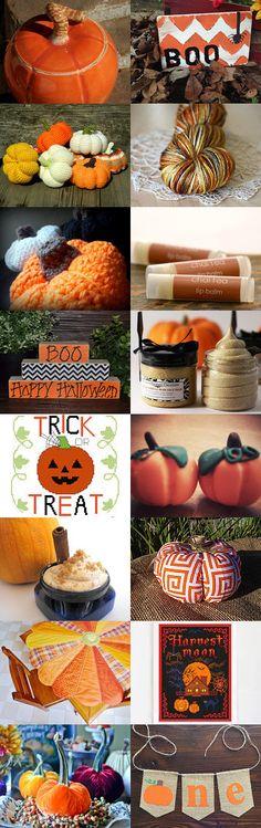 Boo! Happy Halloween! by Asta Kundelyte on Etsy--Pinned with TreasuryPin.com