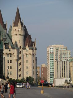 Chateau Laurier, Ottawa, Ontario.  I used to go dancing here all the time during the Disco Era!  Have stayed in the beautiful Hotel once for a Painting convention and classes.