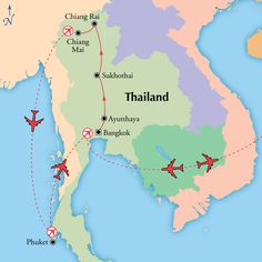 16 Day Tour of Thailand with Phuket & Flights