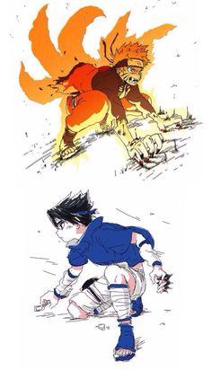 Naruto and sasuke Anime Naruto, Naruto Fan Art, Naruto Sasuke Sakura, Naruto Comic, Naruto Cute, Naruto Shippuden Sasuke, Naruto Funny, Anime Chibi, Manga Anime