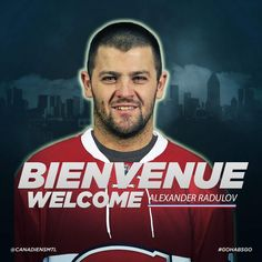 Nouvel acquisition  Alex Radulov Montreal Canadiens, Movie Posters, Movies, Fictional Characters, 2016 Movies, Popcorn Posters, Movie, Films, Film Books