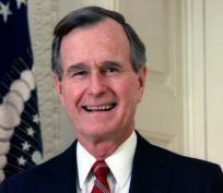 George Herbert Walker Bush / Free Shipping $9.00