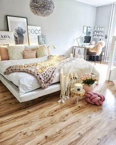 Home Design Ideas: Home Decorating Ideas Cozy Home Decorating Ideas Cozy Fairy lights in the bedroom #cozyhomedecor