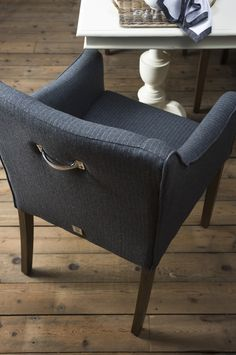 Rivièra Maison - Savile €299 Home And Living, Chair, Furniture, Interior, Gray Interior, Dining Chairs, Dining Table Chairs, Home Decor, Home Deco