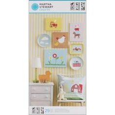 Martha Stewart Large On The Farm Stencils with 29 Designs (3 Sheets/ Pack) - Overstock™ Shopping - The Best Prices on Martha Stewart Decorative Stencils