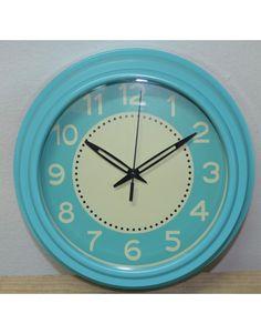 Reloj vintage celeste