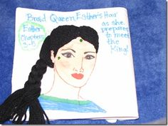 The Book of Esther - A Story of Courage and Faith Esther Bible, Book Of Esther, Bible Quiet Book, Busy Book, Quiet Books, Quiet Time Activities, Craft Activities For Kids, Kids Crafts, Craft Ideas