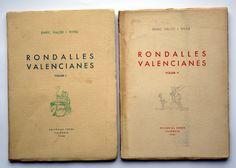 Rondalles Valencianes (1950-1958)  Recopila i dóna caràcter literari a 36 rondalles populars valencianes. La seua afecció per la cacera, i aquest amor per la natura, contribuïren a que coneguera les nostres muntanyes i paratges. Així, mentre practicava aquestes excursions diumengeres i les caceres amb els amics, aprofitava per parlar amb els grans de cada lloc i recollir els esquemes de les històries que li contaven.