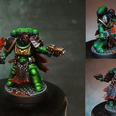 Salamanders 40k, Crusaders, Warhammer 40000, Paint Schemes, Space Marine, Medusa, Marines, Sons, Bb