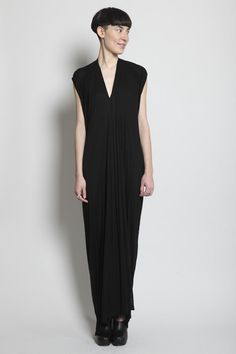 RICK OWENS  Double Drape Dress