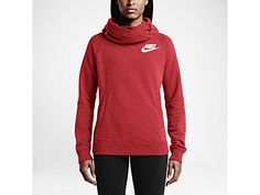 Nike Rally Funnel Neck Pullover Women's Hoodie Size M