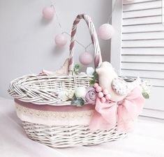 Easter 2020, Disney Diy, Favours, Wraps, Basket, Gift Wrapping, Jar, Baby Shower, Decorations