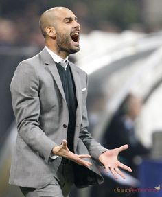 Pep Guardiola. Sexy and stylish.