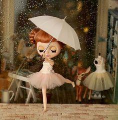 Imagem de doll, blythe, and love