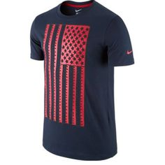 6a6e1d8fab0 Nike USA World Cup 2014 Core Plus Soccer Tee (Obsidian)   SoccerEvolution  Soccer Store