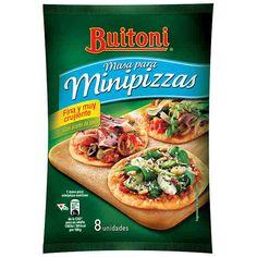 Masa para Minipizzas Buitoni (Supersol) - 1 unidad 2 puntos
