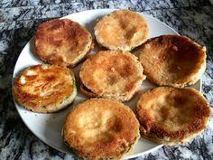 Schnitzel aus Zucchini, Aubergine, Kohlrabi, Mairübchen und anderem Gemüse - Leckeres in vegan