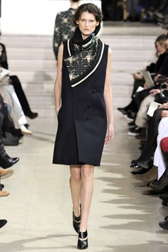 "for some reason, I think ""Middle Eastern Flight Attendent,"" but I could certainly be wrong. spring 2012 couture: Bouchra Jarrar"