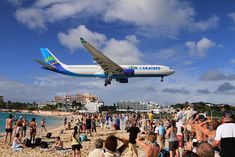 Landing at Princess Juliana Airport - One of the most dangerous and fun airports
