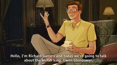 Gansey, drunk history